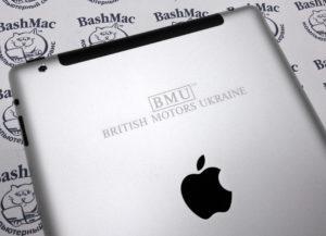 Гравировка на iPad