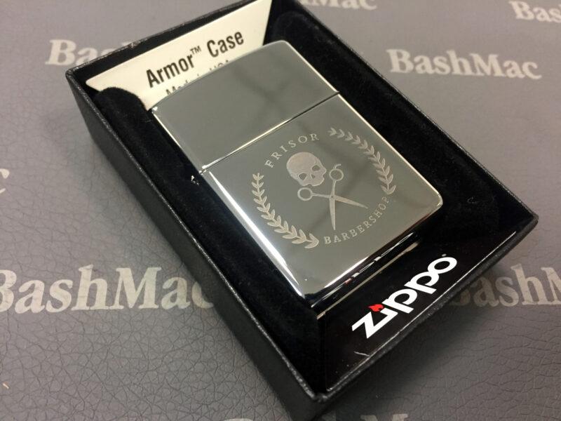 Гравировка логотипа или собственной картинки на зажигалке Zippo