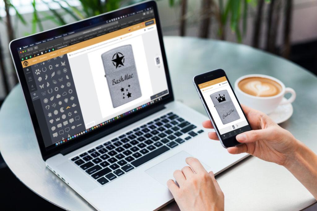 Онлайн-конструктор макета для лазерной гравировки